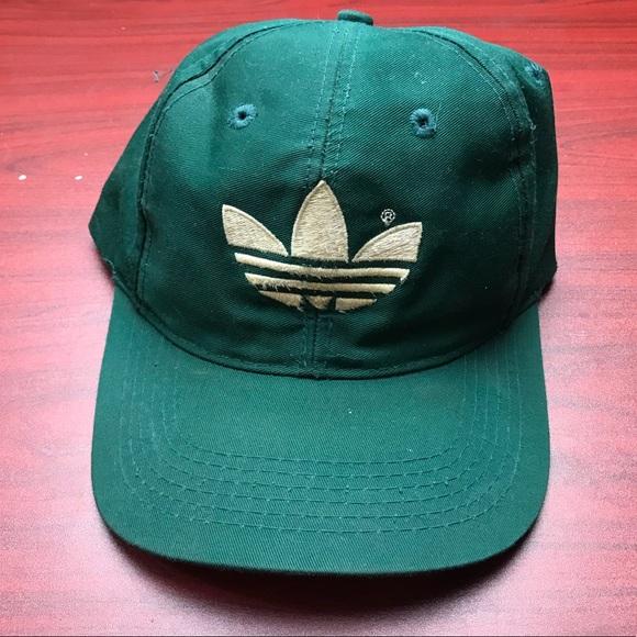 Green adidas SnapBack 01ff1c2d894
